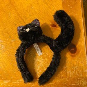 Fuzzy cat headband
